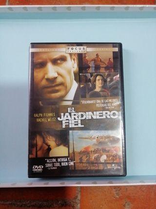 DVD El jardinero Fiel.