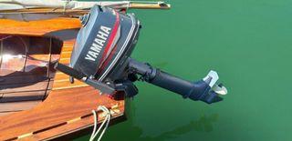 Dinghy - Velero madera - Bote 4m eslora - Barco