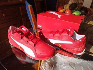 Puma Ferrari Rojo/Blanco
