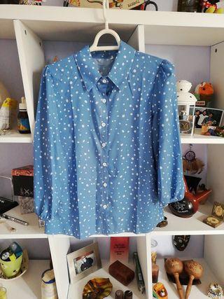 Blusa Azul Nueva