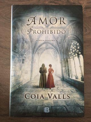 """Libro """"amor prohibido"""" de Coia Valls"""