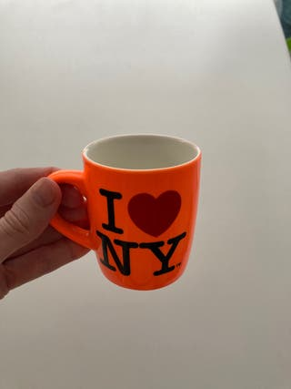 Taza de cortado original comprada en NY