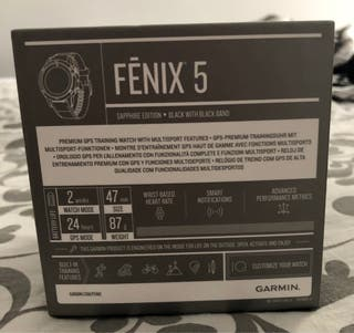 Garmin Fénix 5 Wifi zafiro