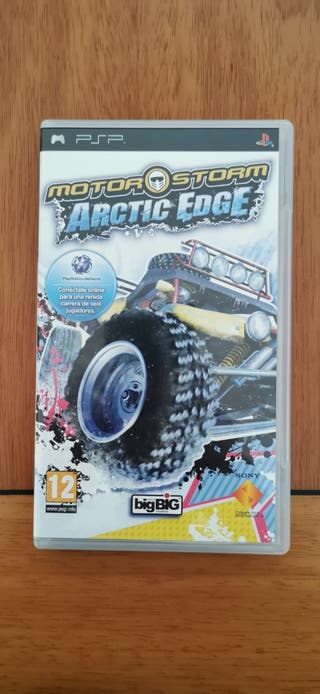 Motor Storm Artic Edge PSP