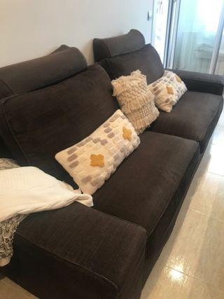 Funda sofá kivik 3 plazas + puff