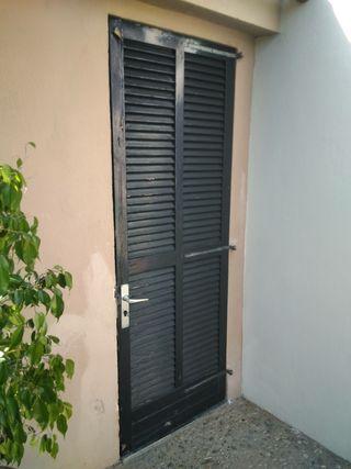 puerta persiana mallorquina 208 X 77 cm