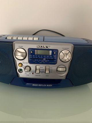 CD RADIO CASSETTE-CORDER