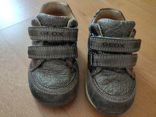 Botines de piel Geox para bebé niña