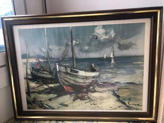 Jurgen Runge, Barcas en la playa