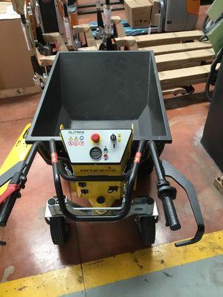 Mini dumper eléctrico Alitrak 500kg.