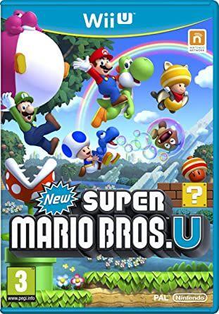 Super Mario Bros U wii