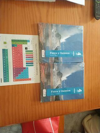 Libros Física y Química 4 de eso. Editorial Edebé