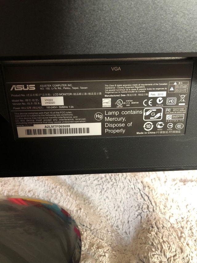 Monitor de Asus