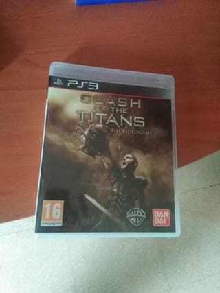 Un juego ps3 titanes