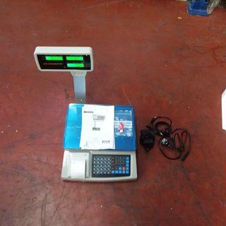 Bascula Comercial 30kg/5g Con Ticket Térmico