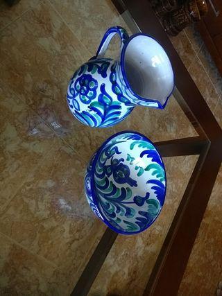 jarra y fuente típico de Granada