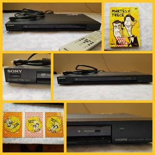 Reproductor DVD Sony y colección Martes y Trece