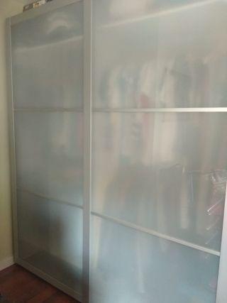Puertas correderas armario IKEA