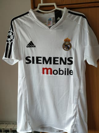 Camiseta de fútbol Real Madrid 2004 2005. Figo #10