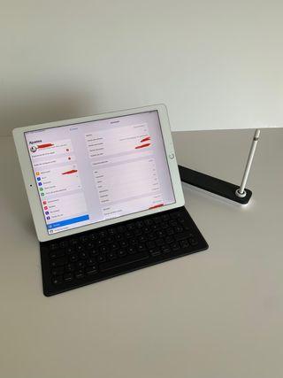 iPad Pro 12,9 256gb celular+wifi + lápiz + teclado