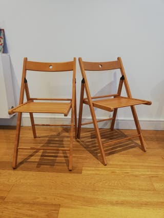 wooden folding chair