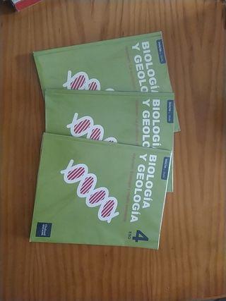 Libros de Biología y Geología 4 de eso. Edi Oxford