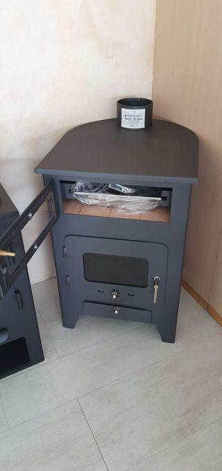 OFERTA Estufa de leña horno