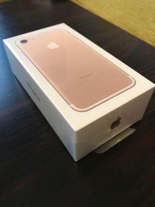 iPhone 7 precintado y libre