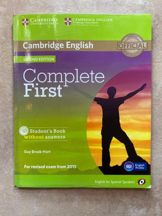 LIBRO INGLÉS COMPLETE FIRST CAMBRIDGE ENGLISH