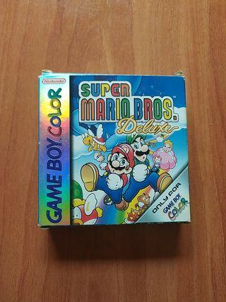 Super Mario Bros Deluxe Gameboy color