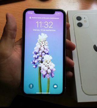 iPhone 11 , 128 gb blanco