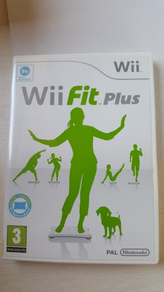 Nintendo wii fit plus + Balance board+aerobic step