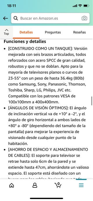 Soporte TV