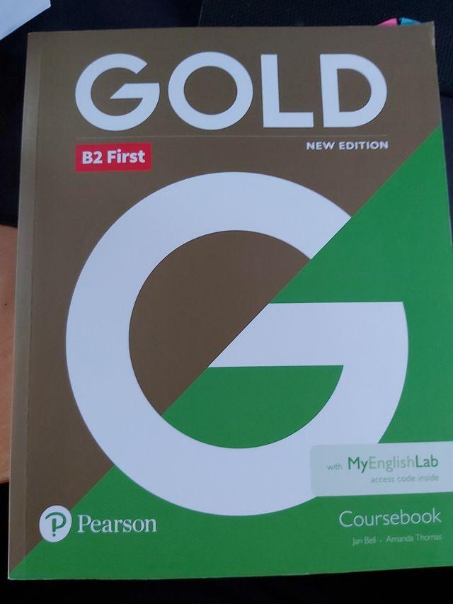 libro inglés Gold b2 first