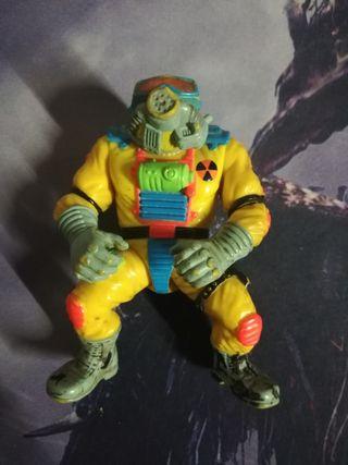 figura toxic crusaders. vengador tóxico.