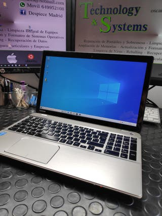 Ordenador portátil TOSHIBA Intel i7