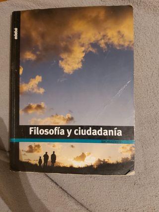 Libro Filosofía y ciudadanía Bachillerato. edebé