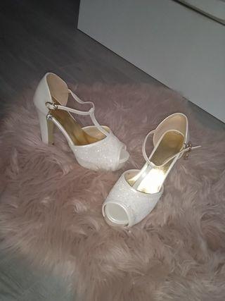zapatos / sandalia de novia
