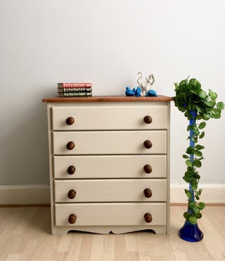Vintage Chest of Drawers Upcycled