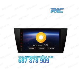 "RADIO GPS BMW E90 E91 E92 ANDROID 8.0 TÁCTIL 9"" CA"