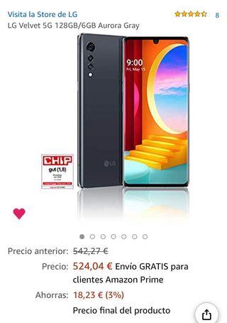 LG Velvet 5G Nuevo