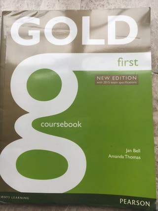 Libro inglés B2: Gold first