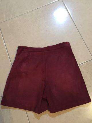 Falda pantalón de niña de Zara