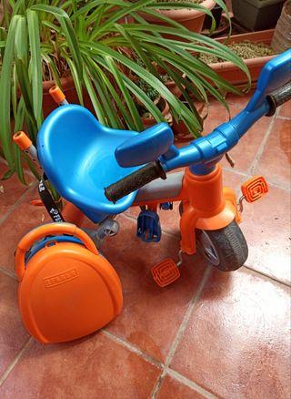 Triciclo infantil Feber