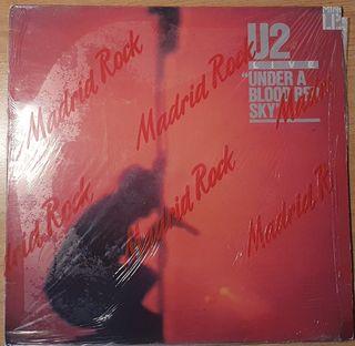Mini lp U2 LIVE UNDER A BLOOD RED SKY