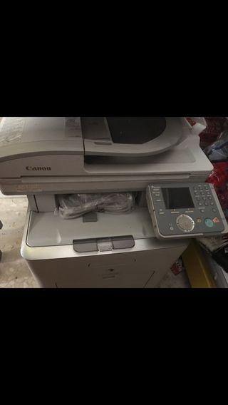 Fotocopiadora, impresora y fax.
