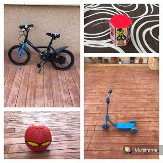 Bicicleta y complementos