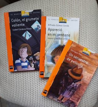 Pack 3 libros literatura infantil, juvenil