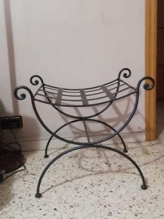silla hierro forjado