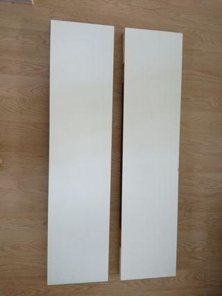 Estanterías blancas Ikea - LACK